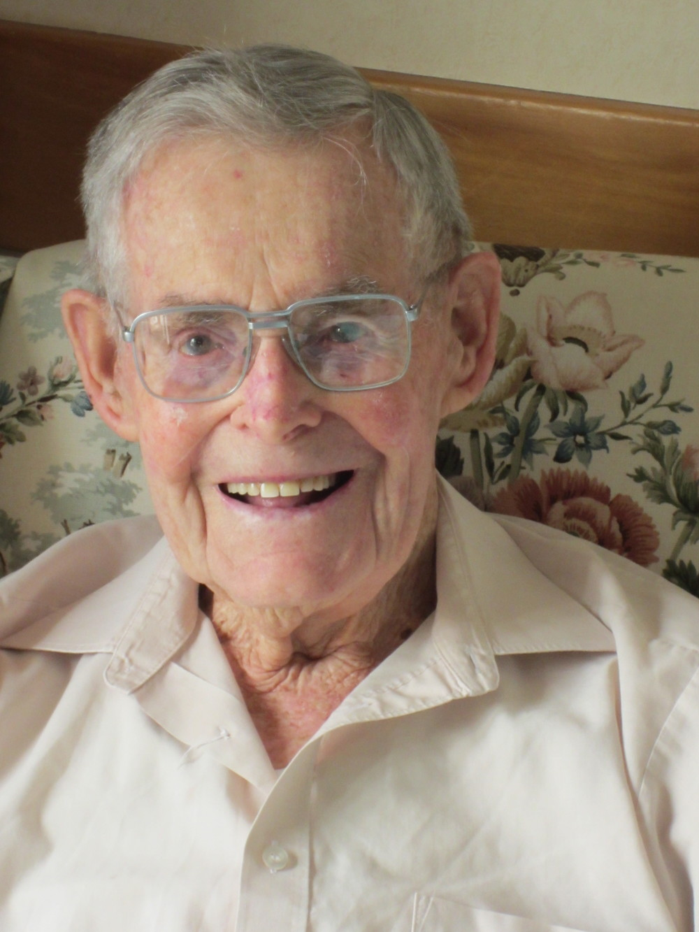 Ted Buckley, aged 98